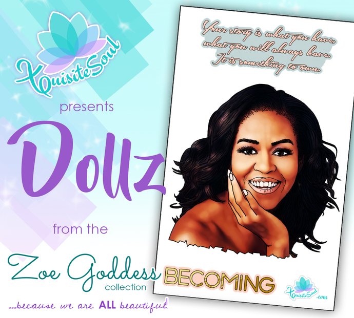 Becoming Michelle Obama African American Dollz