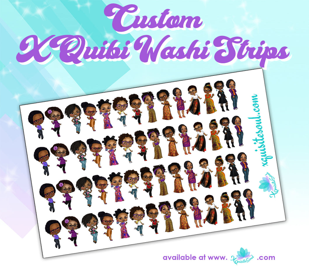 XQuibi Washi Strips 13.0