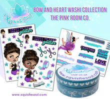XQS Bow and Heart Washi Collection - The Pink Room Co