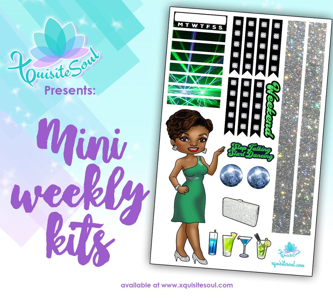 Stop Talking, Start Dancing African American Mini Weekly Kit