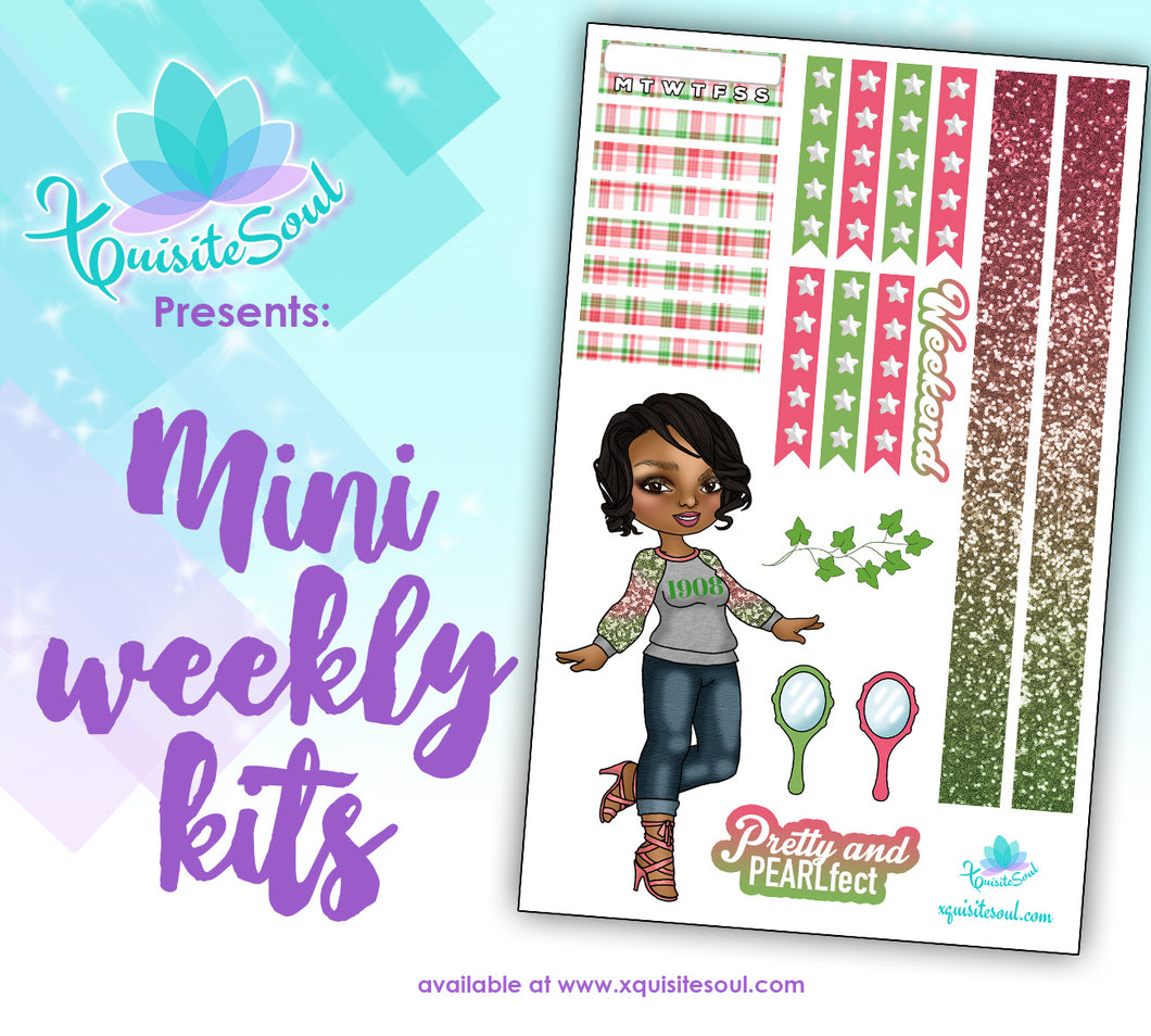 Pretty and Pearlfect XQuibi Mini Weekly Kit