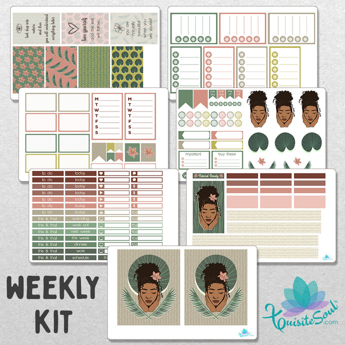 Naturally Beautiful Weekly Kit