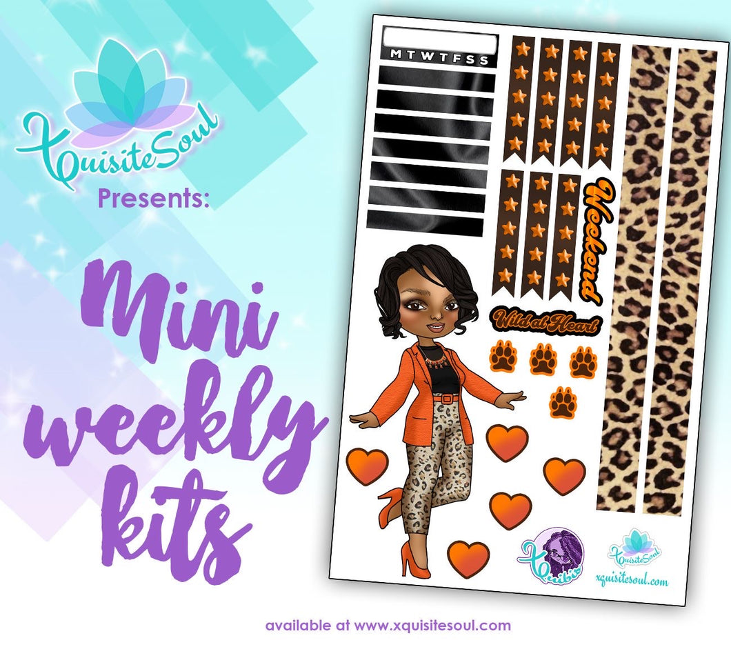 Wild At Heart XQuibi African American Mini Weekly Kit