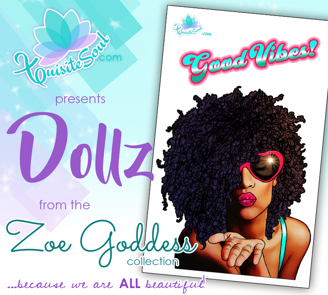 Good Vibes African American Dollz