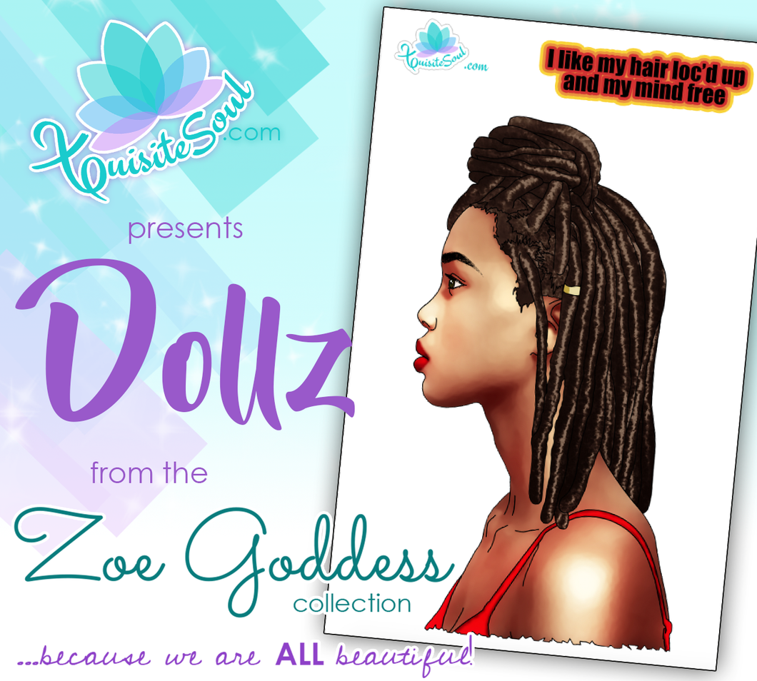 Hair Loc'd Up African American Dollz