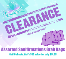 Soulfirmations Clearance Sale