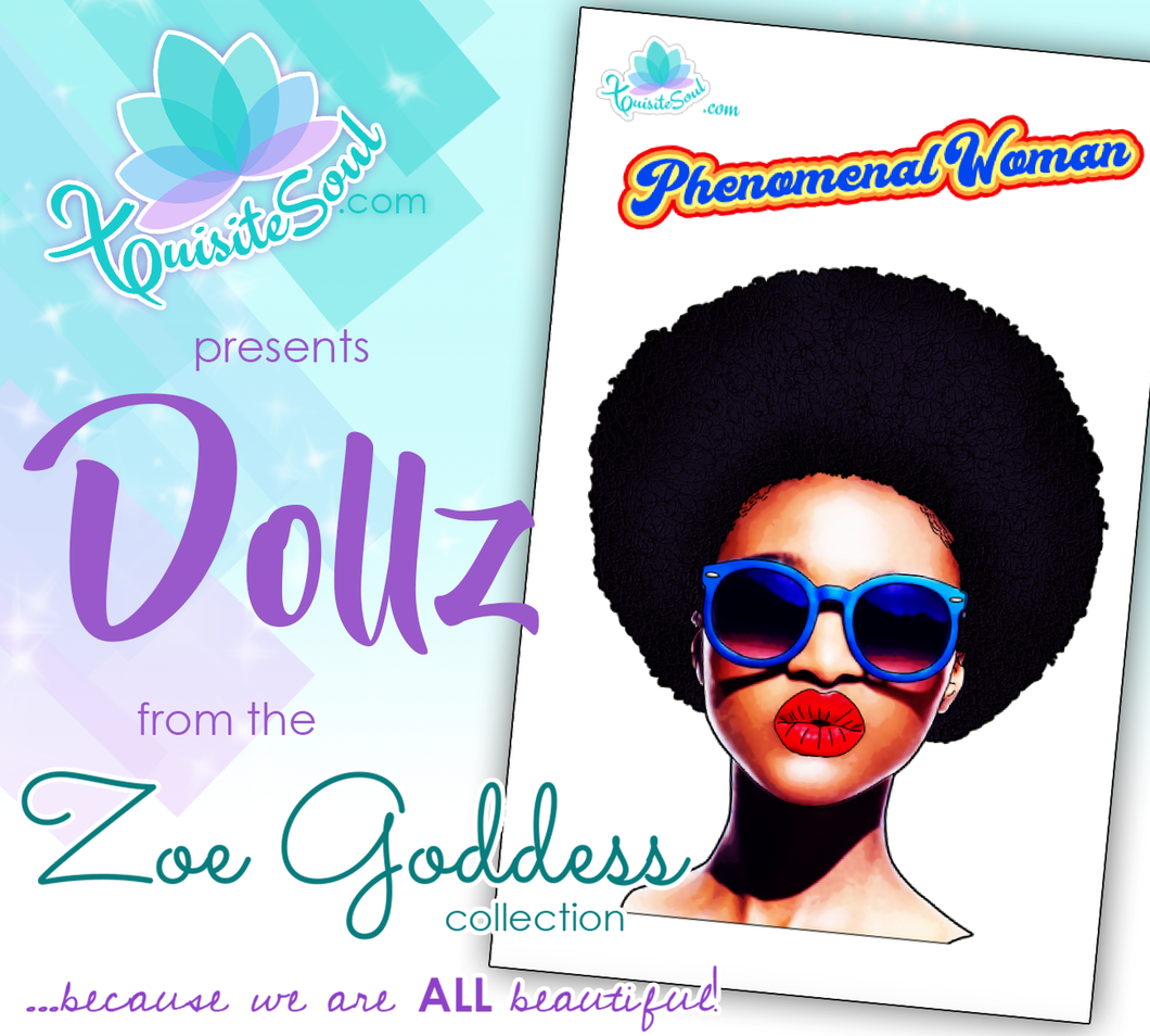 Phenomenal Woman African American Dollz