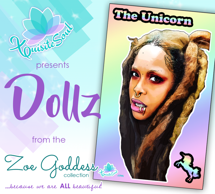 The Unicorn Erykah Badu African American Dollz