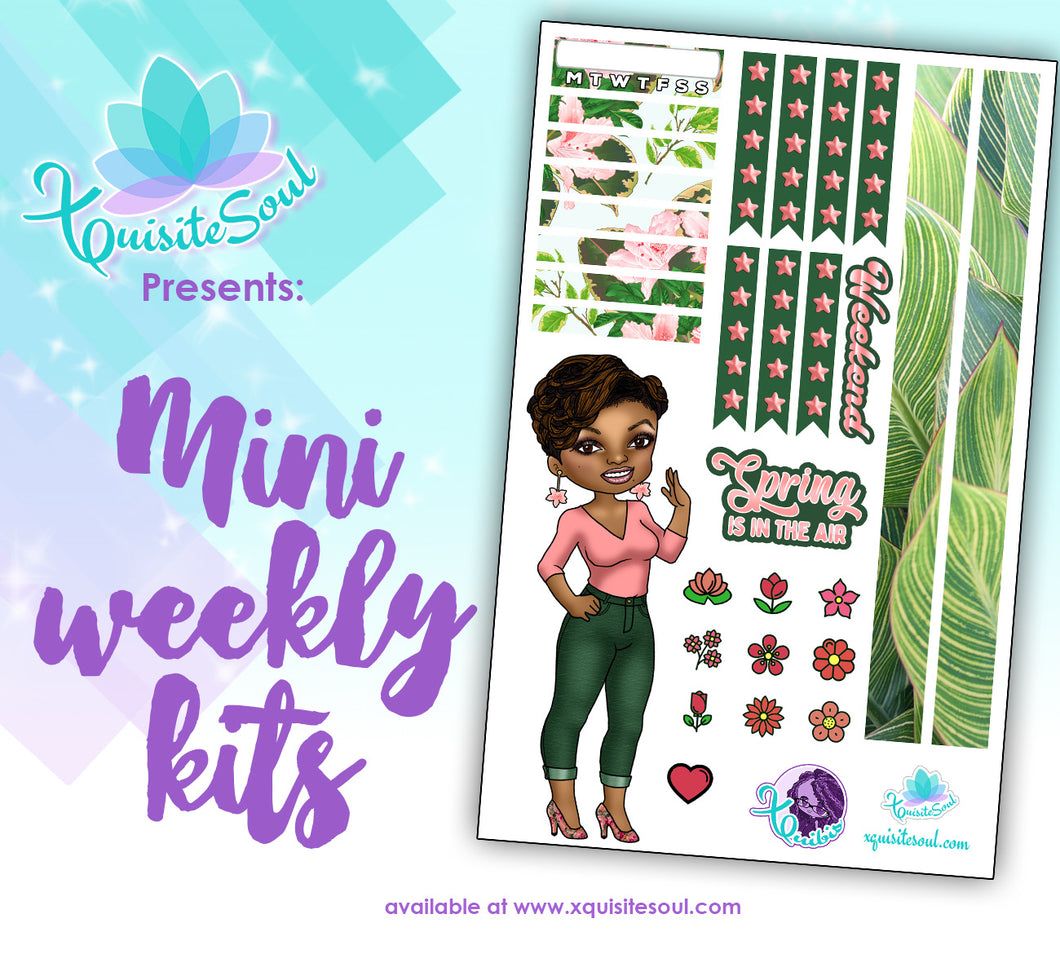 Spring is in the Air XQuibi African American Mini Weekly Kit