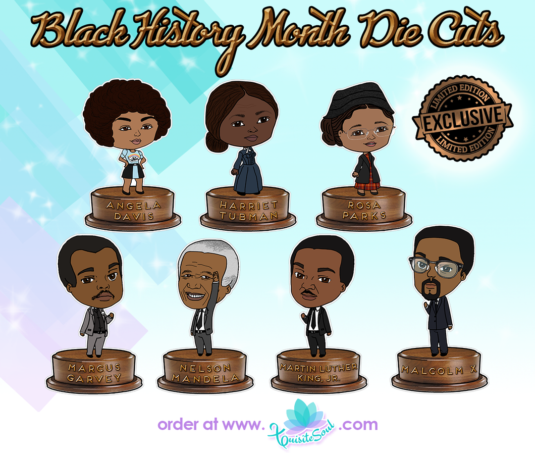 Black History Month XQuibi Die Cuts