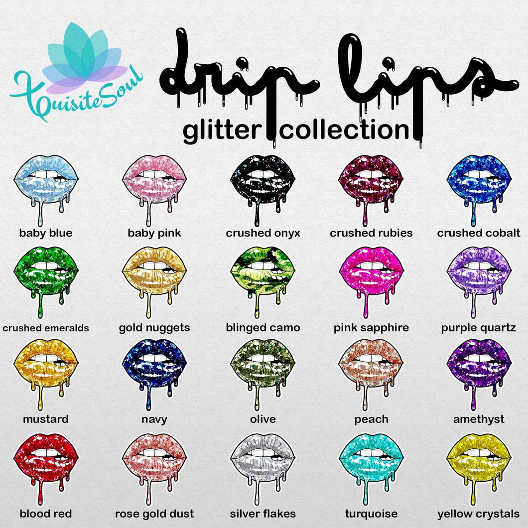 Drip Lips - Glitter Collection