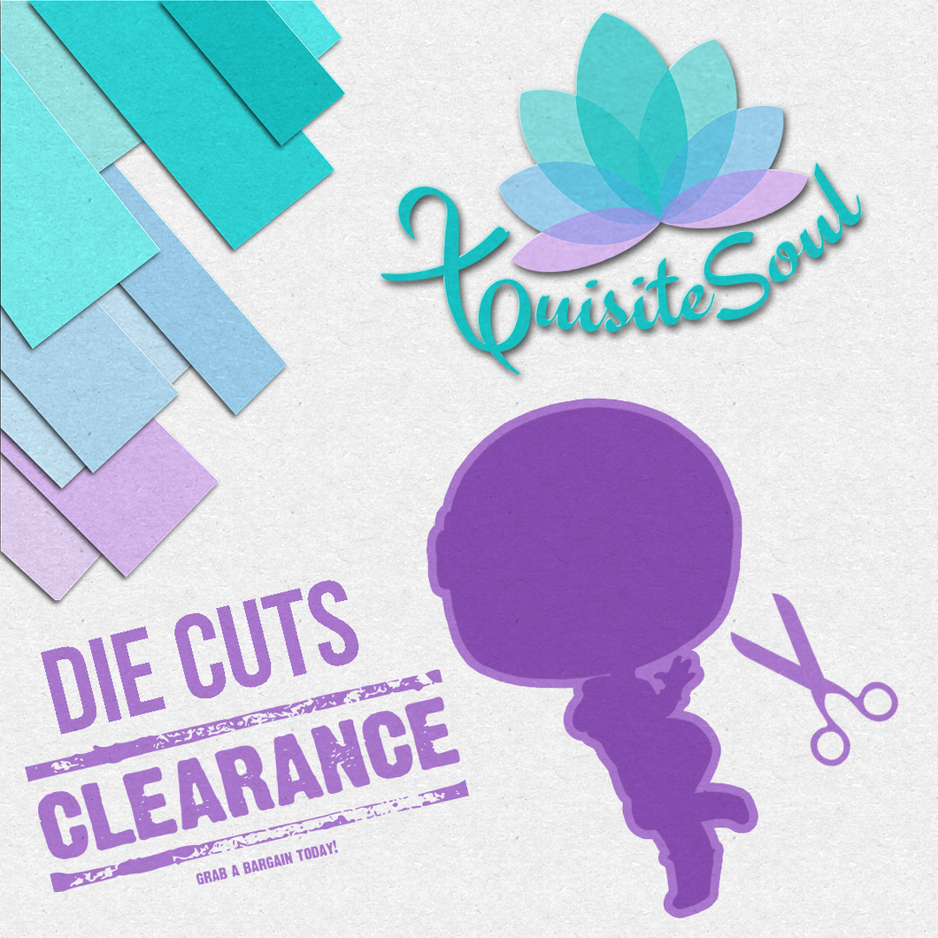 Die Cuts Bags - Clearance Sale