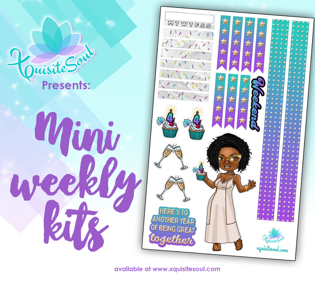 Happy Anniversary Mini Weekly Kit