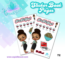 Custom Sticker Book