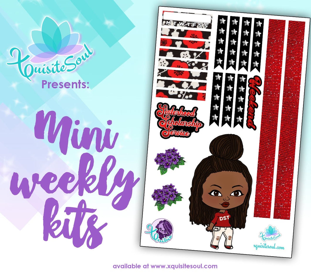 Sisterhood XQuibi African American Mini Weekly Kit