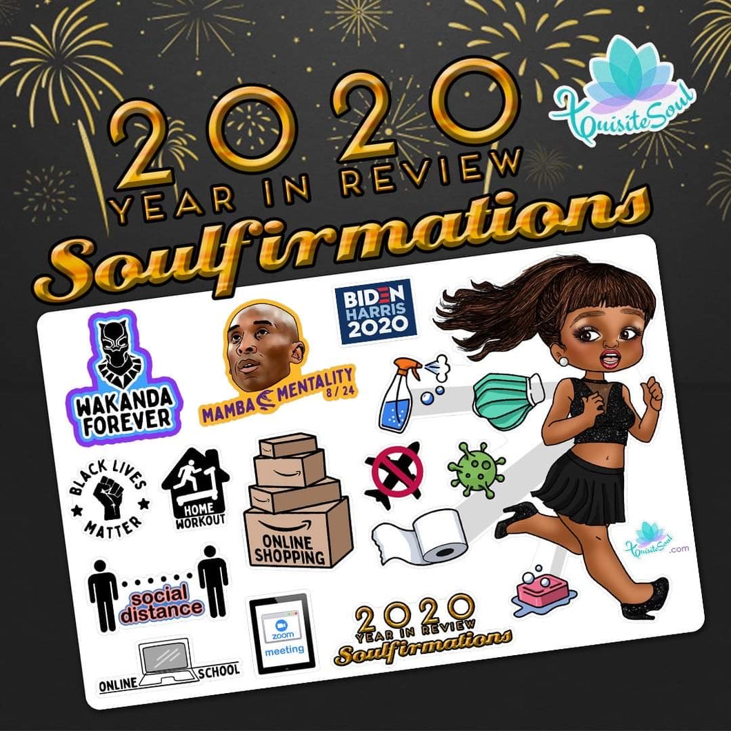 2020 Year In Review Soulfirmations