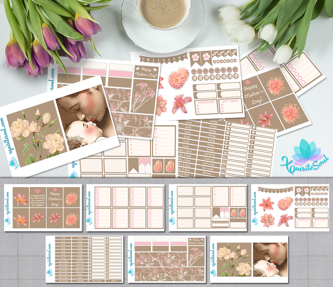 Mother's Day Light Skin Weekly Kit for Erin Condren