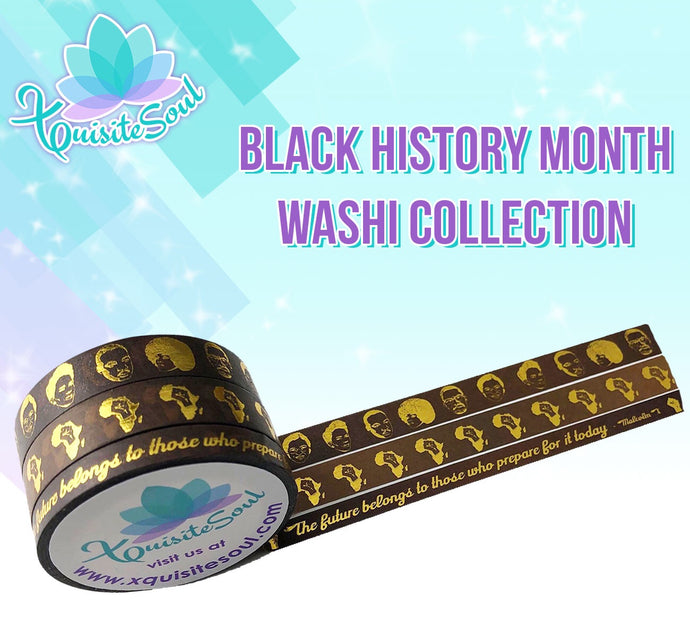 Black History Month Washi Collection