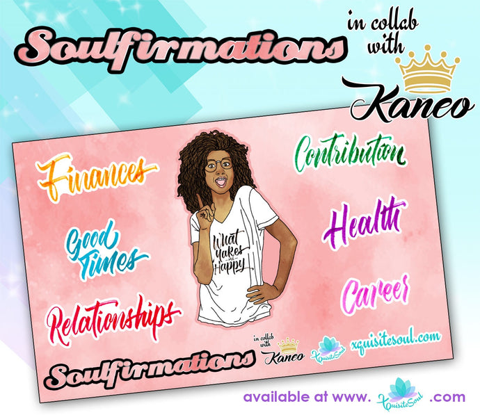 Soulfirmations 29.0 Vision Board