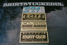 SHIRTSTUCKEDIN ENJOY CLUB CLUB STICKER