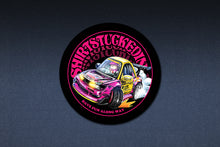 SHIRTSTUCKEDIN CAR FRIENDS STICKER