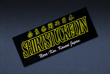 SHIRTSTUCKEDIN NARA-KEN KANSAI JAPAN CLUB STICKER