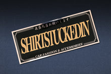 SHIRTSTUCKEDIN LOGO REFLECTIVE CLUB STICKER