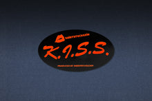 SHIRTSTUCKEDIN K.I.S.S. OVAL STICKER