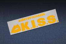 SHIRTSTUCKEDIN K.I.S.S. STICKER