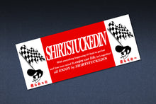 SHIRTSTUCKEDIN CHECKERED YUKI CLUB STICKER