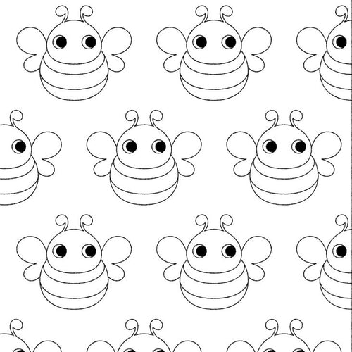 Bees Free colouring pages printable download Maxomorra