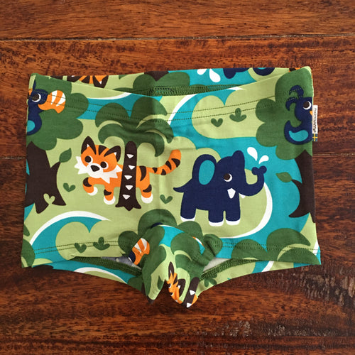 Briefs boyleg (girls) - Jungle - Organic by Maxomorra