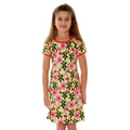 Beautiful kids dress rosehip DUNS Sweden