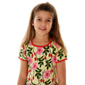 Pretty kids dress rosehip DUNS Sweden