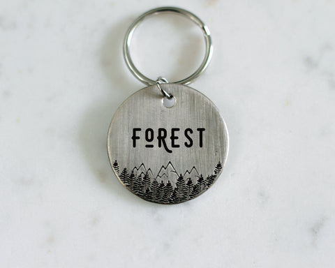 custom stamped metal pet tag
