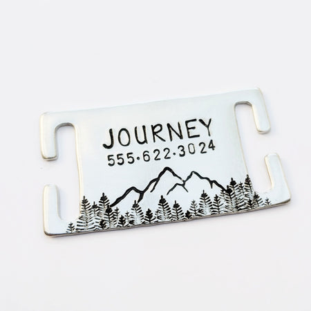 Metal Slider Tag - Choose a Design!