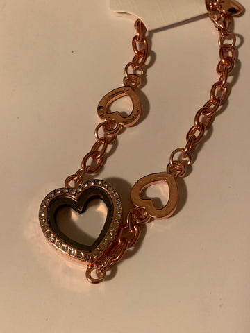 3 Hearts Gem Locket