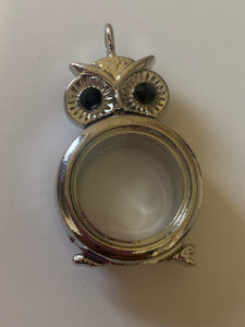 Owl Pearl/ Gem Locket