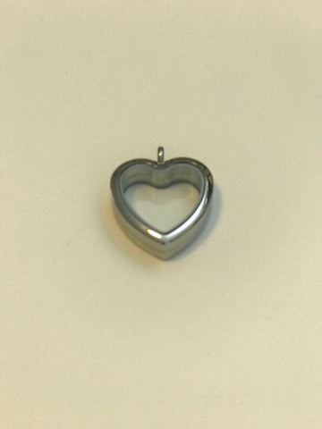 Circle or Heart Gemstone or Pearl Locket