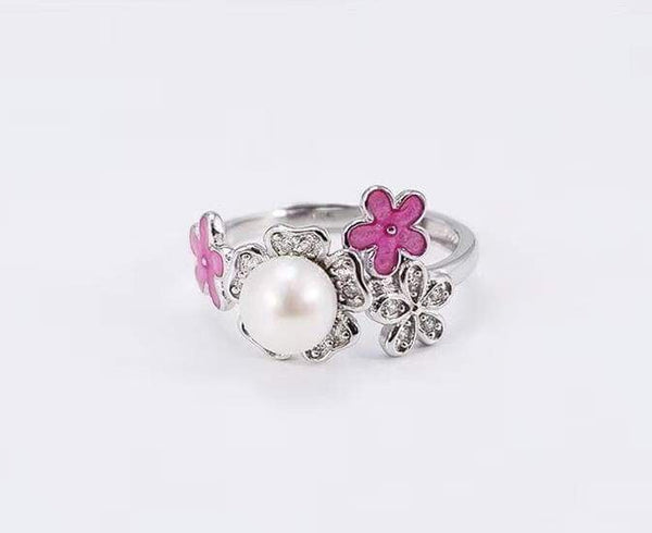 Delicate Flower Ring SS Mount