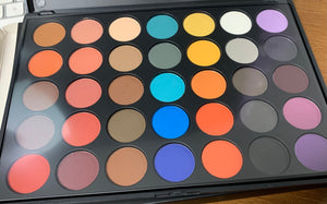 35 piece eyeshadow pallet
