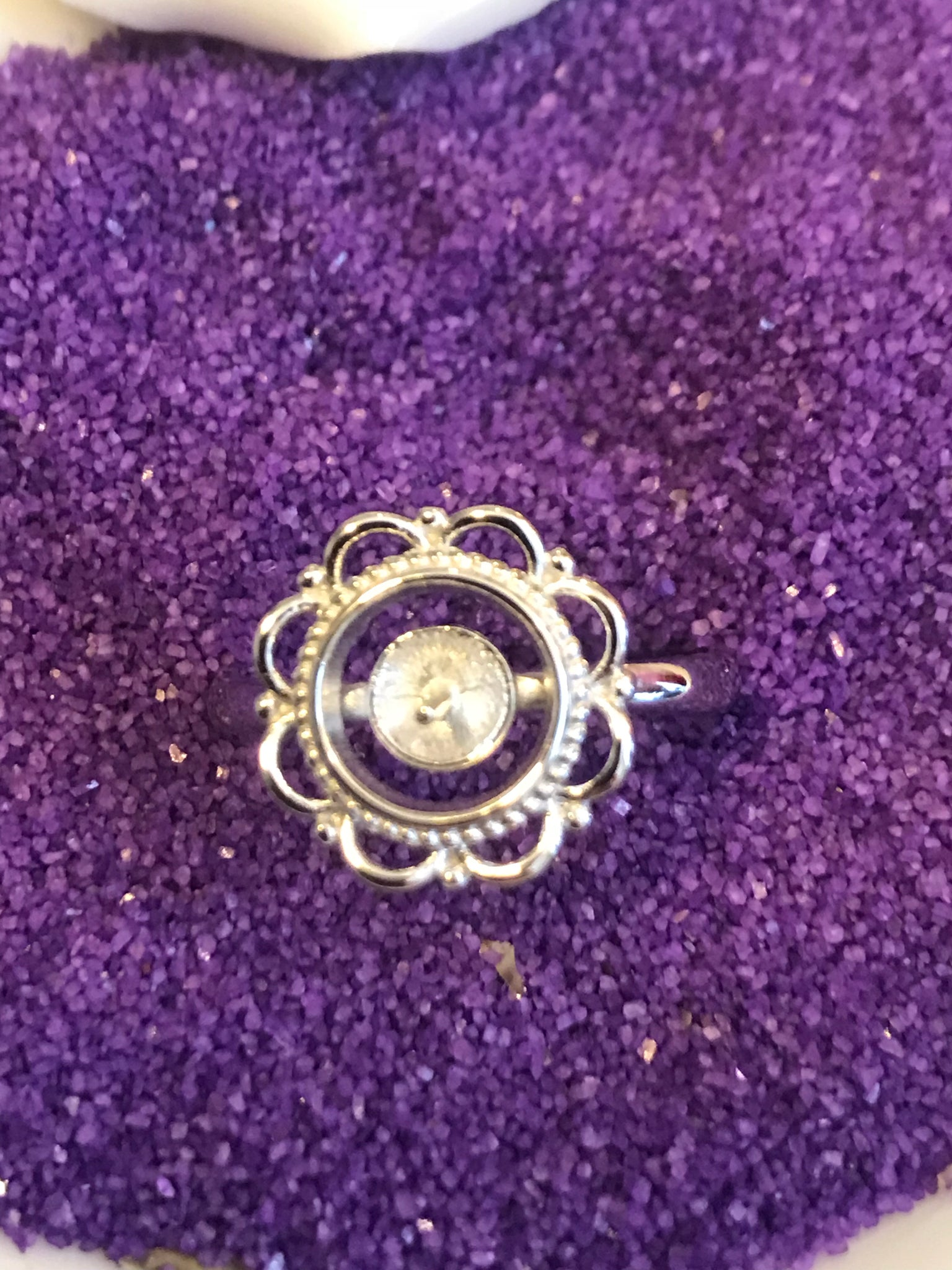 Lace Ring SS Mount