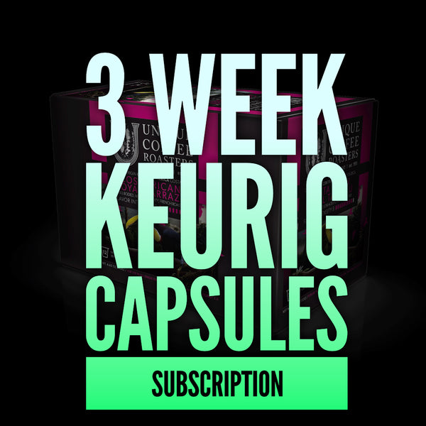 3 Week Keurig Compatible Pod Subscription