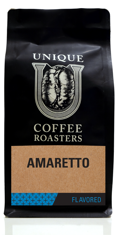 Amaretto Flavored Coffee - Unique Coffee Roasters [16oz (1lb)(453.6g)]