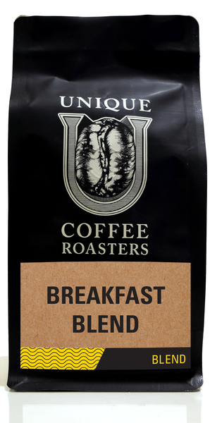 Breakfast Blend - Unique Coffee Roasters [16oz (1lb)(453.6g)]