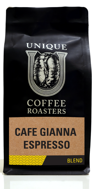 Cafe Gianna Espresso - Unique Coffee Roasters [16oz (1lb)(453.6g)]