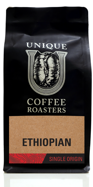 Ethiopian Yirgacheffe - Unique Coffee Roasters [16oz (1lb)(453.6g)]