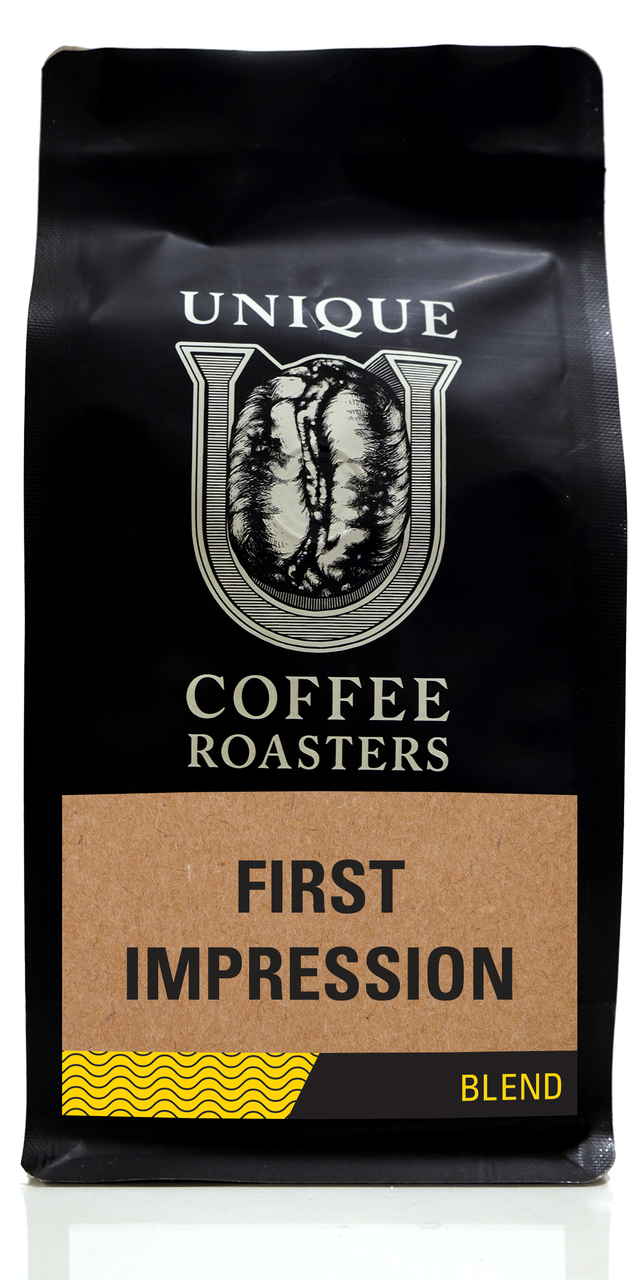 First Impression Blend - Unique Coffee Roasters [16oz (1lb)(453.6g)]