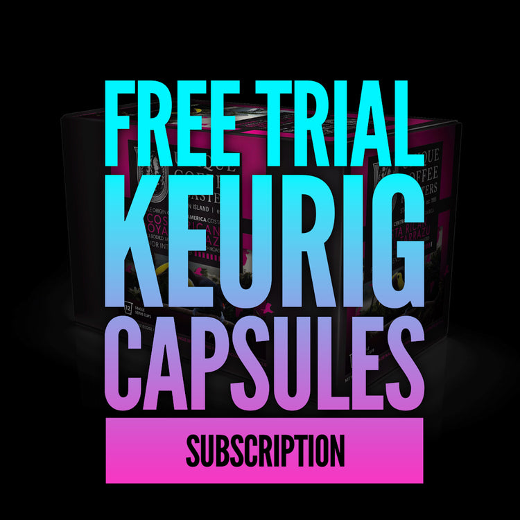 Free Trial Keurig Compatible Capsules Subscription - 3 week Subscription