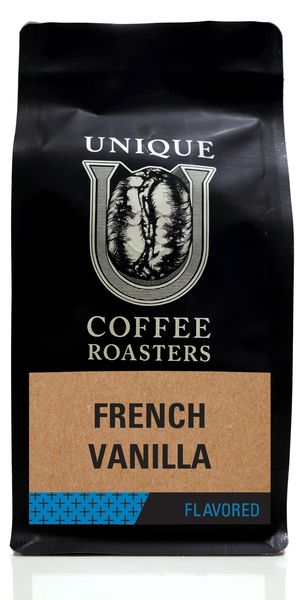 French Vanilla Flavored Coffee - Unique Coffee Roasters [16oz (1lb)(453.6g)]